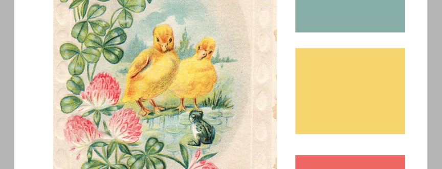 Vintage Color Formulas: Happy Easter