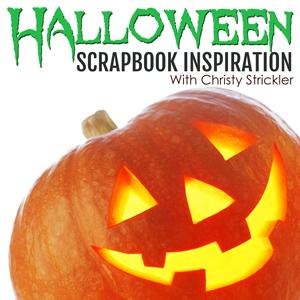Halloween Scrapbook Inspiration
