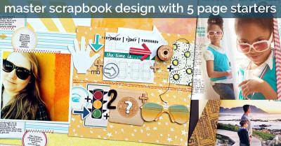 5 Guides ro Master Scrapbook layout design